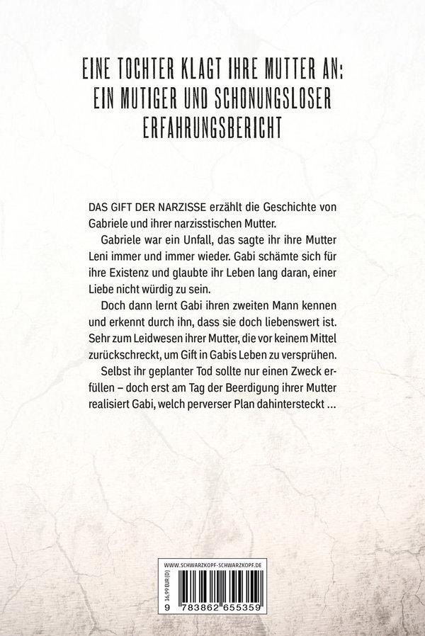 DAS GIFT DER NARZISSE - TOCHTER EINER NARZISSTISCHEN