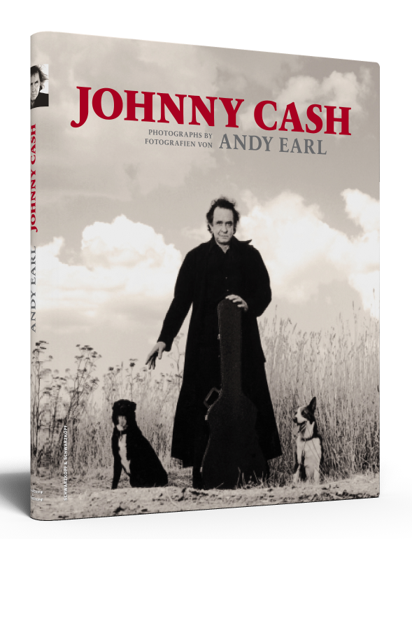 JOHNNY CASH - HANDSIGNIERT VON ANDY EARL